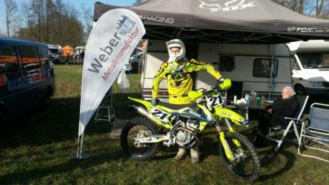 Kevin Keim Sponsoring Weber Metallmanufaktur Zylinder & Motor