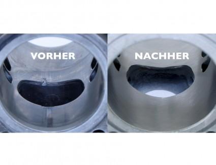 Zylinderinstandsetzung / Zylinderbeschichtung / Regenerieren / Nicasil bis 125ccm (bis 56mm Bohrung)