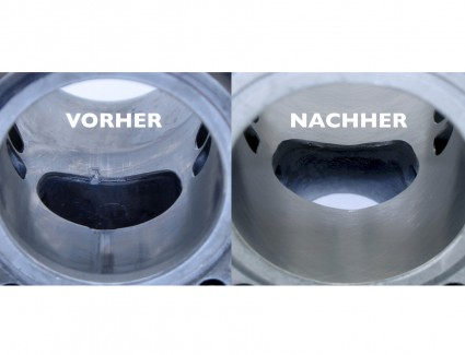 Cylinder support / cylinder coating / Nicasil up to 85cc (up to 50mm bore)