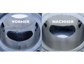Cylinder support / cylinder coating / Nicasil over 300cc (over 72mm bore)